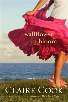 Read an excerpt of my newest novel, Wallflower in Bloom, or listen to me read it to you at ClaireCook.com.