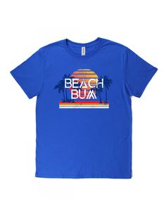B-Wear Sportswear Baseball T-Shirt Tee Beach Bum Palm Trees Sunset Short Sleeve Tee, Short Sleeves, Packing For A Cruise, Dinner Outfits, Tee Shirts, Tees, Beach Bum, Bathing Suits, Rv