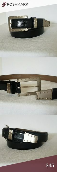 """QUALITY BOYS//CHILDRENS BLACK LEATHER BELTS TO FIT APPROX.26/""""-31/"""" WAIST"""