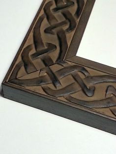 20 ft - Hand Finished Celtic Knot, Picture Frame Moulding, Made In Spain Ornate Picture Frames, Picture Frame Molding, Picture Hangers, Celtic Knot, My Etsy Shop, Crafty, Moulding, Interior Ideas, Unique Jewelry