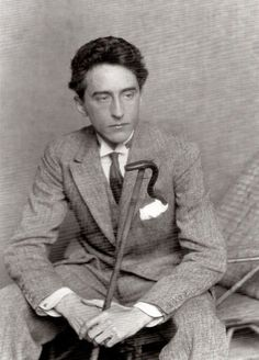 """Jean Cocteau (1889-1963), a French poet, novelist, dramatist, designer, boxing manager, playwright, artist and filmmaker…  """"The greatest masterpiece in literature is only a dictionary out of order."""" — Jean Cocteau"""