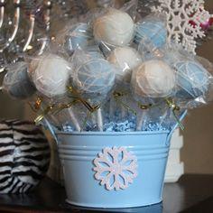 Cake pop display