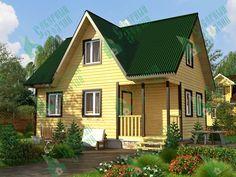 Каркасный дом 6 х 8 - цены и проекты в Санкт-Петербурге