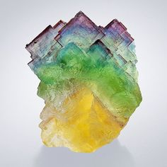 Fluorite from Bergmännisch Glück Mine, Frohnau, Erzgebirge, Saxony, Germany Minerals And Gemstones, Crystals Minerals, Rocks And Minerals, Crystals And Gemstones, Stones And Crystals, Gem Stones, Gemstone Brooch, Mineralogy, Beautiful Rocks