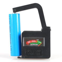 Description :     Universal Battery Volt Tester AA AAA C D 9V Button Cell        This gadget really works when you don't know which batteries to keep and which to throw away.  Place a battery between the two points of the battery tester and it will make the right decision for you in seconds.        Features :       100% Brand New.  Weight : 58g.  Compact size and light weight.  Portable handheld design.  Easy-to-read color-code scale indicates power level.  Test the condt