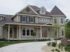 The exterior color is Sherwin Williams Stone Lion