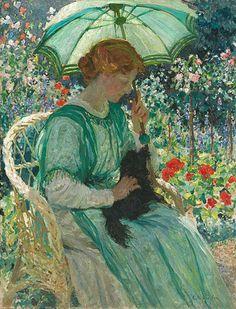 emanuel-phillips-fox-the-green-parasol-1912.jpg 530×695 pixels