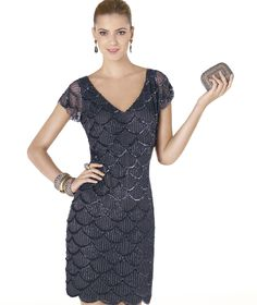 Pronovias, 2015 Elbise koleksiyonundaki AIROSO kokteyl elbisesini gururla sunar. | Pronovias