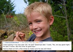 The 13 Creepiest Things A Child Has Ever Said To A Parent... SO FUNNY!