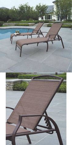 lounges 79684 pool chaise lounge chair recliner outdoor patio