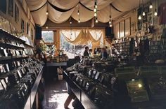 27 Record Stores you Have to Shop at Before You Die -- including Aquarius Records in San Francisco, CA. Mississippi Records in Portland, OR -- incl. Love Music in Glasgow, Scotland -- incl. Elastic Witch in Dublin, Ireland Vinyl Record Shop, Vinyl Store, Vinyl Records, Buy Vinyl, San Francisco, Vinyl Junkies, California, Music Store, Shopping