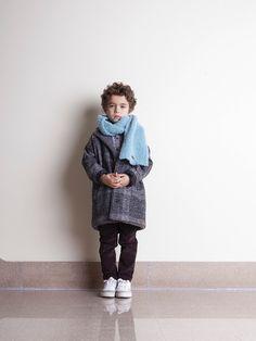 Tocoto Vintage, Toddler Boys, Kids, Plaid Coat, 21st, Normcore, Collection, Fashion, Children