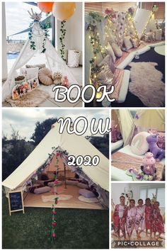 Ultimate Kids Sleepover Parties servicing the Blue Mountains Penrith Hawkesbury Sydney Central Coast Bathrust and South Coast NSW Teepee Parties Belle Tent Parties Slumber Parties Kids Sleepover, Slumber Parties, Teepee Party, Time Kids, Party Service, Cake Smash, Birthday Ideas, Tent, Toddler Bed