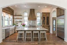 Modern & Rustic Kitchen. Old Seagrove Homes