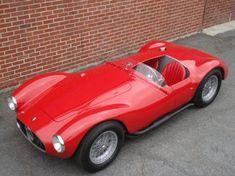 1953 maserati A6 GCS spyder 2 Vintage Porsche, Vintage Cars, Antique Cars, Vintage Vespa, Vintage Dress, Classic Sports Cars, Classic Cars, Maserati Sports Car, Convertible