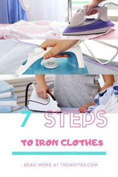 There are many techniques of ironing clothes, but in this article, we are going to cover ironing by type of fabric. Sew Kind Of Wonderful, How To Iron Clothes, Different Fabrics, Homemaking, Fashion Outfits, College Board, Type, Step Guide, Home