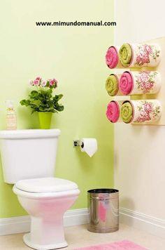 Manualidades para decorar el Baño | Mimundomanual