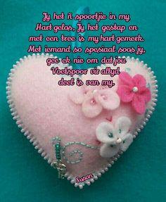 Goeie Nag, Goeie More, Afrikaans Quotes, Morning Greeting, Coin Purse, Friendship, Van, Inspire, Flowers