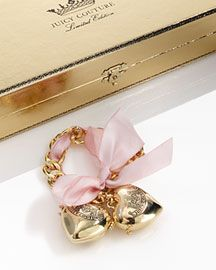 Juicy Couture Beauty Lip-Gloss Charm Bracelet- Gifts under $100- Neiman Marcus :  lip gloss chloe gift ideas gold