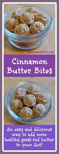 Cinnamon Butter Bite