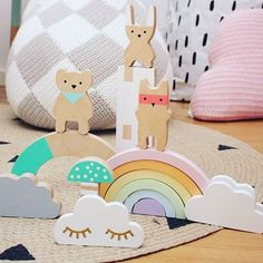 Rainbow-love  The rainbow is avalible at @houseofdreams.se and @barneglede very soon  and also available for preorder at @retrokids_com  Please note that the rainbow is not intended as a toy, its handmade and handpainted and there is no guarantee it will look as beautiful in the long run.