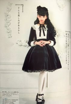Yura in Angelic Pretty - Lady Ribbon OP