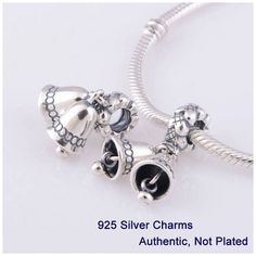 Women Jewelry European 925 Silver Bangle Crystal Bull New Beads Charms Bracelet
