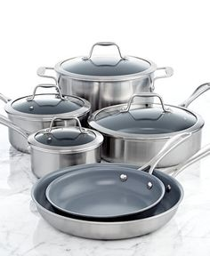 J.A. Henckels Zwilling ceramic nonstick cookware set, a great start to your kitchen collection