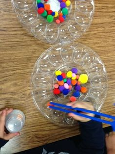 Kindergarten and Mooneyisms: Penny a Pompom Game