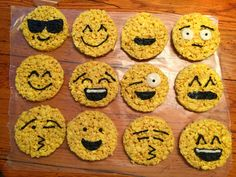 Hi all! I'm back with some more creativity in the kitchen. Emoji Rice Krispies Treats! (Just look at how good they came out. Believe me, I'm more shocked than you are!) Before we get st…