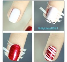 Christmassy but you could change the colours! You could have different colours on each finger...