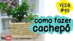 Como reaproveitar pote de sorvete e transformar em cachepô para plantas - Decoração - Faça Você Mesmo