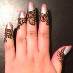 ombre nails, nail art, henna tattoo, henna design, bridal henna, mehandi, mehndi, design, body art  #makeupbysehar