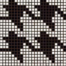 pied de poule - Pesquisa Google Knitting Charts, Knitting Patterns, Crochet Patterns, Hat Patterns, Crochet Stitches, Knit Crochet, Motif Tartan, Alpha Patterns, Tapestry Crochet