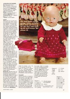 Album Archive - Dukketøj til Baby Born 2 - Ingelise Ag Dolls, Reborn Dolls, Girl Dolls, Knitting Dolls Clothes, Knitted Dolls, Doll Sewing Patterns, Doll Clothes Patterns, Knitting For Kids, Baby Knitting