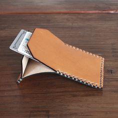 Flap Wallet / Tan