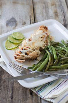 Grilled Kefir Chicken - Oh Sweet Basil