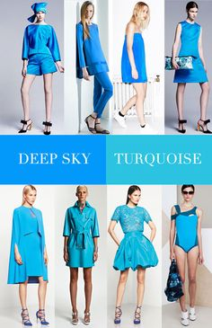 Resort Color 2014, blue sky