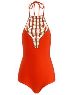 Hibiscus Red Teahupo'o Swimsuit | Acacia | Avenue32