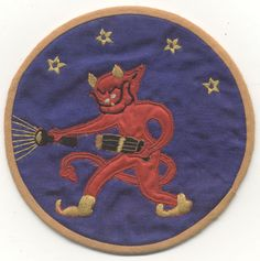 Ultra-Rare Chinese-Made WWII US Marines Night Fighting Squadron 533 Patch