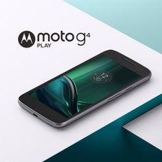 Smartphone Moto G 4 Play Dual Chip Android 6.0 Tela 5'' 16GB Câmera 8MP - Preto…