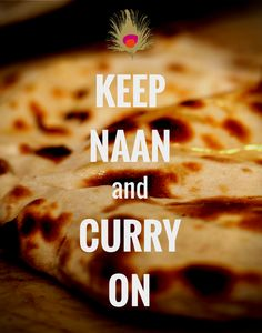 Por fin es viernes!! Keep Naan and Curry On! Mayura restaurante & lounge - Barcelona.
