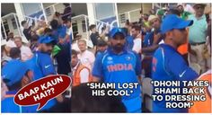 See Indian Player Sahmi's Reaction When Pakistani Fan said Who is Dad?