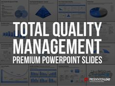 Total Quality Management PPT Slide Template