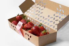Sunrise's Eco Berry Box Design Can Be Constructed Without Glue #eco trendhunter.com
