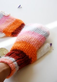 I'm going to knit these beauties for myself!