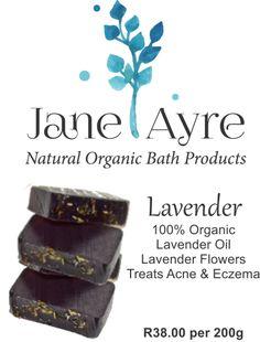 Lavender 100% Organic Soap
