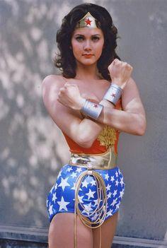 Lynda Carter. Wonder Woman.