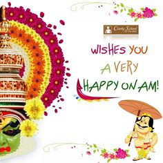 Clarke School Chennai wishes you a very HAPPY ONAM