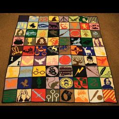Fab Harry Potter blanket!